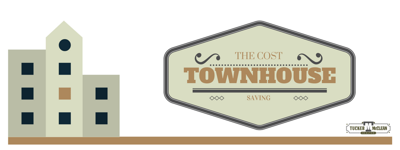 Townhouse ownership what you need to know tucker mcclean for Townhouse construction cost